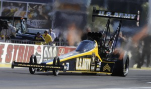 Tony Schumacher will attempt to win the U.S. Nationals for the 10th time in his career this weekend. (NHRA Photo)