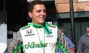 Stefan Wilson has joined Fan Force United with plans to race full-time in the Verizon IndyCar Series in 2015. (IndyCar Photo)
