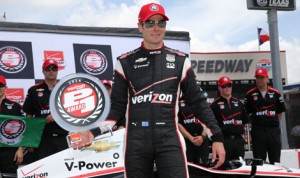 Will Power will start from the pole for Saturday's Firestone 600 Verizon IndyCar Series race at Texas Motor Speedway. (IndyCar Photo)