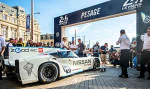 The Nissan ZEOD RC will make its racing debut during the 24 Hours of Le Mans. (Nissan Photo)