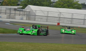 TUDOR United SportsCar drivers tackled the updated Indianapolis Motor Speedway road course Thursday. (IMS Photo)