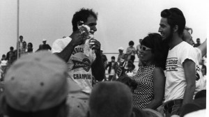 Don Garlits famously shaved his beard at the racetrack in 1967. This year, he'll do it again. (NHRA photo)