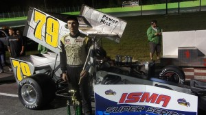Jon McKennedy earned his first ISMA victory of 2014 at Chaudiere.  (Speed51.com photo)