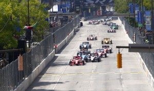 The IndyCar Series has done away with double-file restarts at all events for the Verizon IndyCar Series. (IndyCar Photo)
