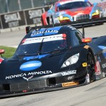 Jordan Taylor and Ricky Taylor picked up their first victory of they ear in the Prototype class during Saturday's TUDOR United SportsCar Championship event at Belle Isle Park in Detroit, Mich. (Al Steinberg Photo)
