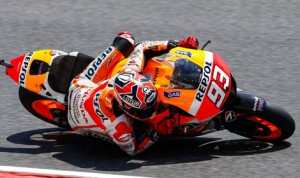 Marc Marquez won his seventh-straight MotoGP event Sunday at Circuit de Cataluyna in Spain. (MotoGP Photo)