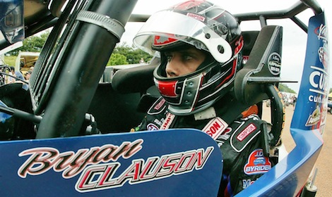 Bryan Clauson set for battle Thursday night at New Egypt (N.J.) Speedway. (Dave Dalesandro photo)