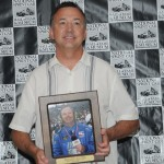 SPEED SPORT contributor Dave Argabright entered the National Sprint Car Hall of Fame Saturday night. (Conrad Nelson Photo)