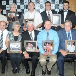 The 2014 class of the National Sprint Car Hall of Fame. (Conrad Nelson Photo)