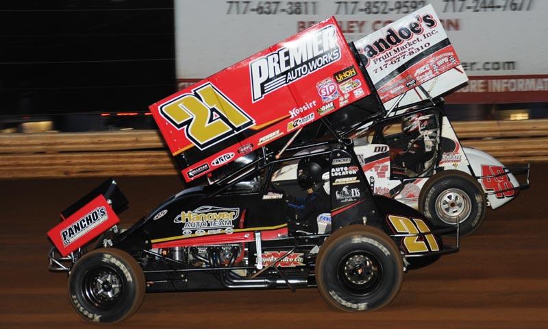 All Star Sprints >> Danny Dietrich Brian Montieth Lincoln Speedway All Star Sprints
