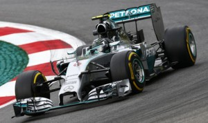 Nico Rosberg earned his third Formula One victory of the year Sunday in Austria. (Mercedes Photo)