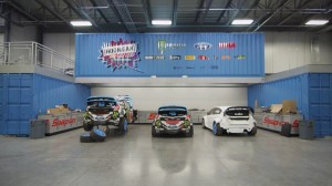 Ken Block let Ford Racing's cameras patrol his Hoonigan Racing shop for the first time. (Ford Racing photo)