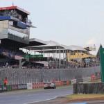 The front stretch at Circuit de la Sarthe during the 2014 24 Hours of Le Mans. (Pete Richards Photo)