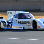 The Nissan ZEOD RC on track during 24 Hours of Le Mans qualifying Thursday at Circuit de la Sarthe. (Pete Richards Photo)