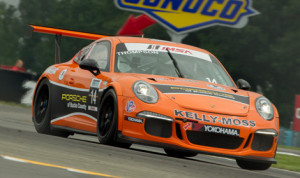 Colin Thompson scored his first Porsche GT3 Cup Challenge USA triumph Friday at Watkins Glen (N.Y.) Int'l. (Ted Rossino Photo)
