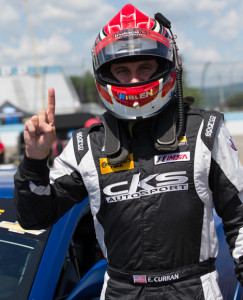 Eric Curran will start from the pole for Saturday's Continental Tire SportsCar Challenge event at Watkins Glen (N.Y.) Int'l. (Ted Rossino Photo)