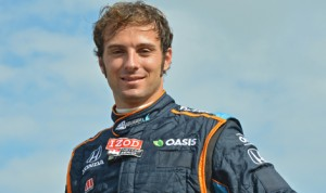Luca Filippi has joined Rahal Letterman Lanigan Racing for a pair of upcoming Verizon IndyCar Series doubleheaders. (IndyCar Photo)