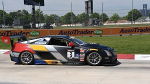 Johnny O'Connell sped to a Pirelli World Challenge win in Detroit on Sunday. (Al Steinberg photo)