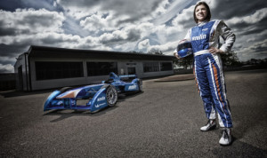 British racer Katherine Legge  joined the Amlin Aguri Formula E team, becoming the first female driver for the new all-electric FIA Formula E Championship.