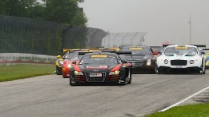 It was an eventful Saturday of Pirelli World Challenge racing at Road America. (PWC photo)