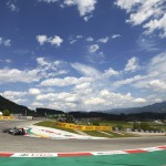 Blue skies welcomed Formula One teams during Sunday's Austrian Grand Prix at the Red Bull Ring. (Steve Etherington Photo)