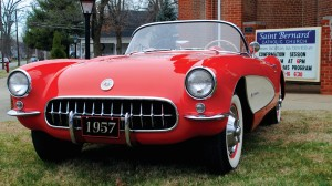 This 1957 Chevrolet Corvette will be the big prize in the Classic Corvette Raffle. (CCR photo)