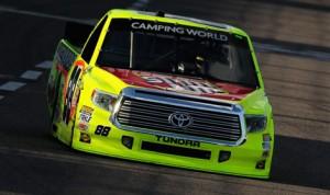 Matt Crafton, seen here during practice Thursday at Texas Motor Speedway, dominated the WinStar World Casino & Resort 400 Friday. (NASCAR Photo)