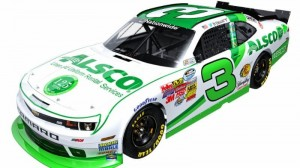 Ty Dillon will carry the colors of Alsco on his car Friday at Kentucky Speedway. (RCR photo)