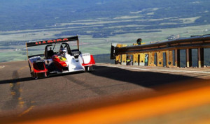 Romain Dumas was the overall winner of the 2014 edition of the Pikes Peak Int'l Hill Climb in Colorado. (Norma Auto Concept Photo)