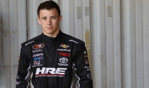 Brett Moffitt will drive the No. 66 Toyota for Michael Waltrip Racing at Michigan Int'l Speedway next weekend. (NASCAR Photo)