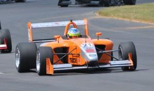 Jimmy Simpson ended Daniel Burkett's Atlantic Championship winning streak Saturday at Virginia Int'l Raceway. (Atlantic Championship Photo)