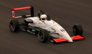 Tim Minor drove to victory in Sunday's F2000 Championship Series race at Virginia Int'l Raceway. (F2000 Photo)