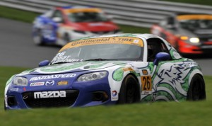 Freedom Autosport will enter three Mazda MX-5 race cars for Saturday's IMSA Continental Tire SportsCar Challenge race at Watkins Glen Int'l. (Scott R. LePage/LAT Photo)