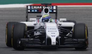 Felipe Massa scored his first Formula One pole since 2008 Saturday at the Red Bull Ring in Austria. (Williams F-1 Photo)