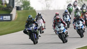 Josh Hayes won the AMA SuperBike event on Sunday at Road America, but not without controversy.  (AMA photo)