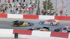 Rough driving has become an issue in the Lucas Oil Modified Series. (LOM photo)