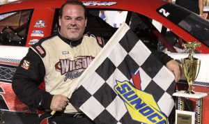 Donnie Wilson was the winner of Saturday's Southern Super Series late-model event at Montgomery Motor Speedway. (Speed51 Photo)