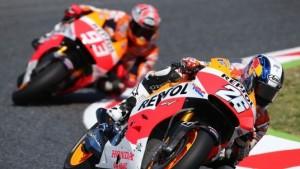 Dani Pedrosa took the MotoGP pole in Spain on Saturday. (MotoGP photo)