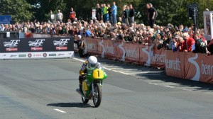 Isle Of Man TT races aren't just for the newest, fastest motorcycles in the world. (IOM photo)