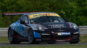 Scott Hargrove won the pole on his first flying lap at Calabogie Motorsports Park. (IMSA photo)