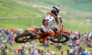 Ken Roczen scored his second-straight overall victory in the Lucas Oil Pro Motocross Championship Saturday at Thunder Valley MX Park. (Simon Cudby Photo)