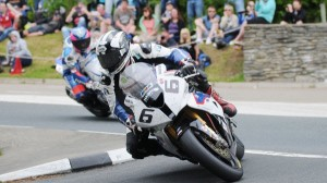 Michael Dunlop sped to his 11th career Isle of Man win on Friday. (IOM photo)