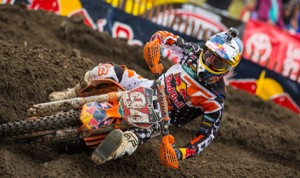Ken Roczen carries the Lucas Oil Pro Motocross championship lead into Saturday's event at Pennsylvania's High Point Raceway. (Simon Cudby Photo)