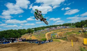 Blake Baggett continued his domination of the Lucas Oil Pro Motocross 250 class Saturday at Hight Point Raceway. (Simon Cudby Photo)