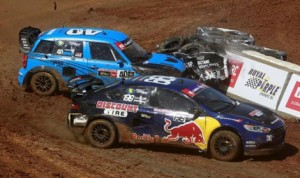 Red Bull Global Rallycross will return to The Dirt Track at Charlotte Motor Speedway in July. (HHP/Tami Kelly Pope Photo)