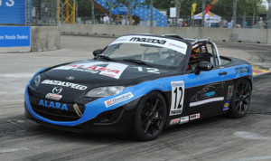 Kenton Koch rolled to victory in the SCCA Mazda MX-5 Cup event Saturday in Houston, Texas. (Steve Bernstein Photo)
