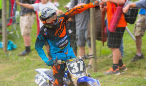Cooper Webb earned his first Lucas Oil Pro Motocross 250 class victory Saturday at Muddy Creek Raceway. (Simon Cudby Photo)