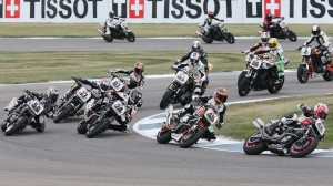 AMA's Harleys will race at Indianapolis Motor Speedway in August. (AMA Pro Racing/Brian J. Nelson photo)