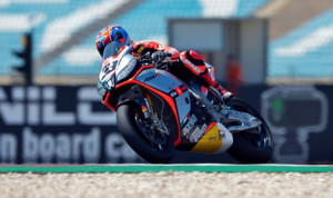 Marco Melandri paced both World Superbike practice sessions Friday at Autódromo Internacional do Algarve. (World Superbike Photo)