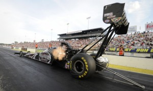 Shawn Langdon is looking to turn around his luck as the NHRA continues its Western Swing this weekend. (NHRA Photo)